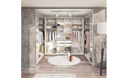 Які бувають гардеробні кімнати?