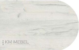Столешница барная 600х1600 - цвет «дуб крафт белый»