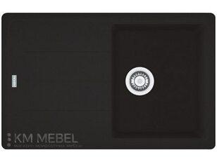 Мойка FRANKE BFG 611-78 фрагранит оникс (оборотная)+вентиль с сифоном (шт.)